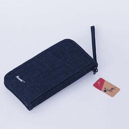 Porta Documentos Travel Azul