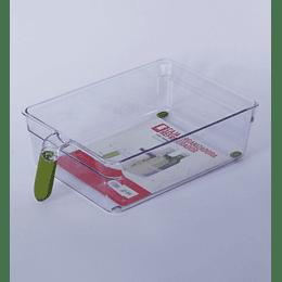 Caja Organizadora Refrigerador 20x31x8,5 mango