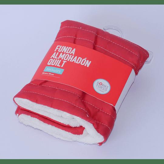 Funda Almohadón 50x70 corderito rojo