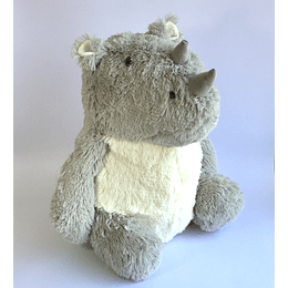 Cojín Peluche Rinoceronte