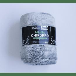 Manta Chiporro Térmica Soft Touch - Frozen Gris
