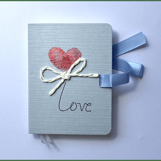 Diario de Vida LOVE 10,5x14x2