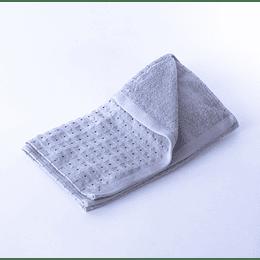Paño Cocina -Toalla Qingchen 35x75 Cudriculado Gris-Gris