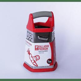 Rallador Premium Acero 5 Caras