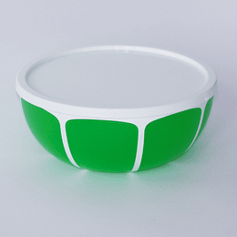 Ensaladera Con Tapa 24,5cm verde