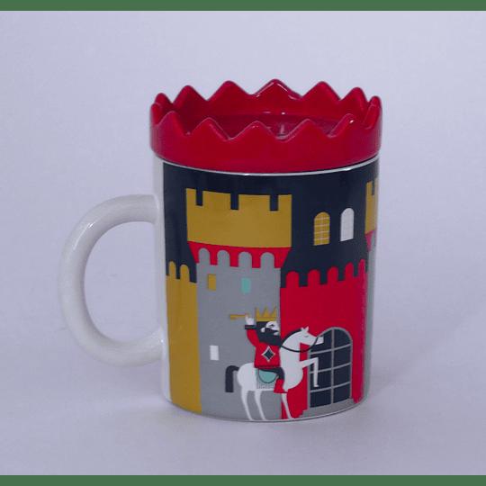 Mug Con Tapa Castillo