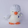Muñeco de Peluche Pingüino blanco/celeste