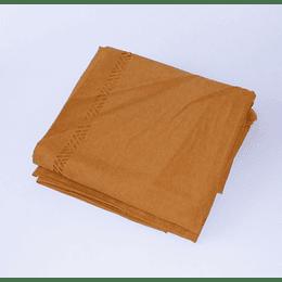 Mantel Prepicado Rectangular 170x280 Amarillo Dorado