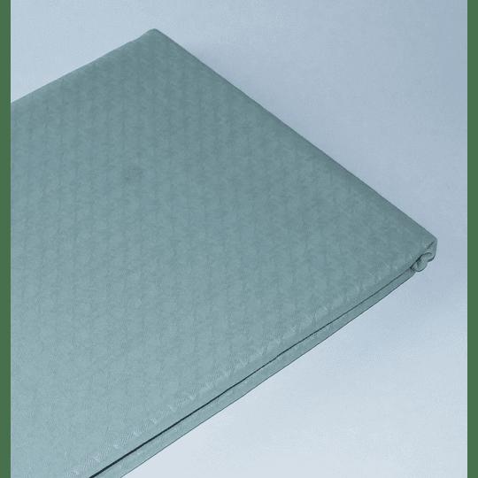 Mantel Redondo 150 Jacquard / verde claro