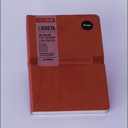 Libreta  14x21 - 96 Hojas Elástico Grueso