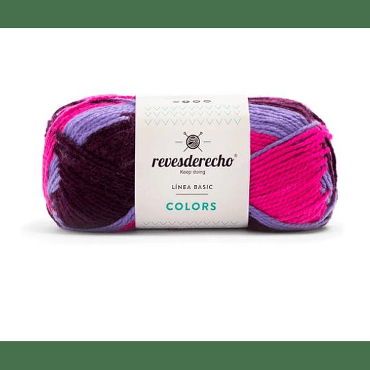 lana Colors mix morado claro 0082