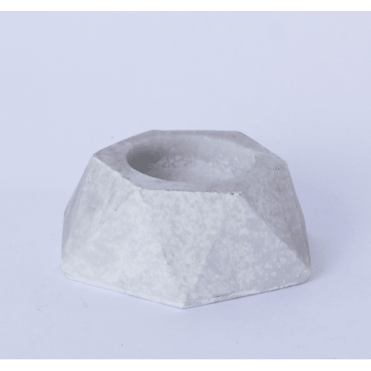 Porta Vela Piedra Geometrica