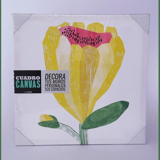 Cuadro Canvas 40x40 Flor