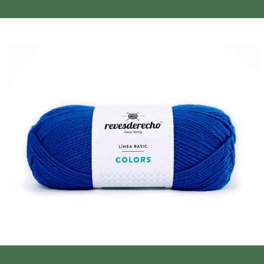Lana Colors azul azulino 0022