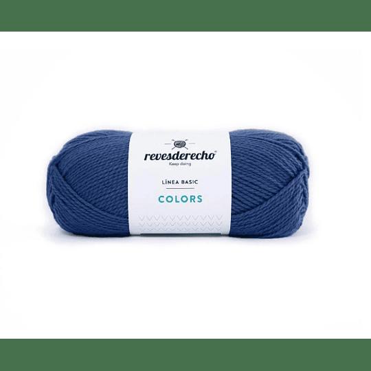 Lana Colors azul petroleo 0880