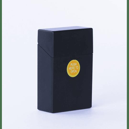 Cigarrera Plástico Negro