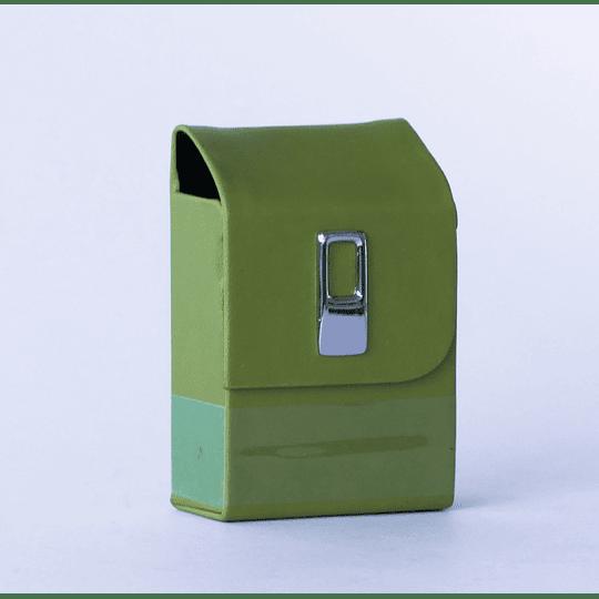 Cigarrera Vinil Verde