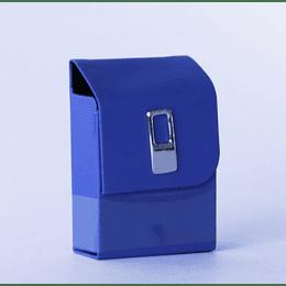 Cigarrera Vinil Azul
