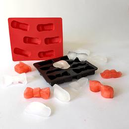 Set 2 Cubetas para hacer Hielo Silicona