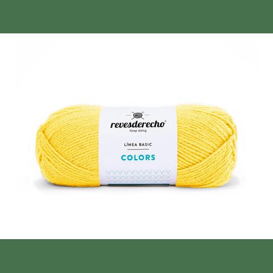 Lana Colors amarillo huevo 0727