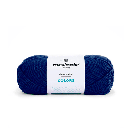Lana Colors azul francia 0732