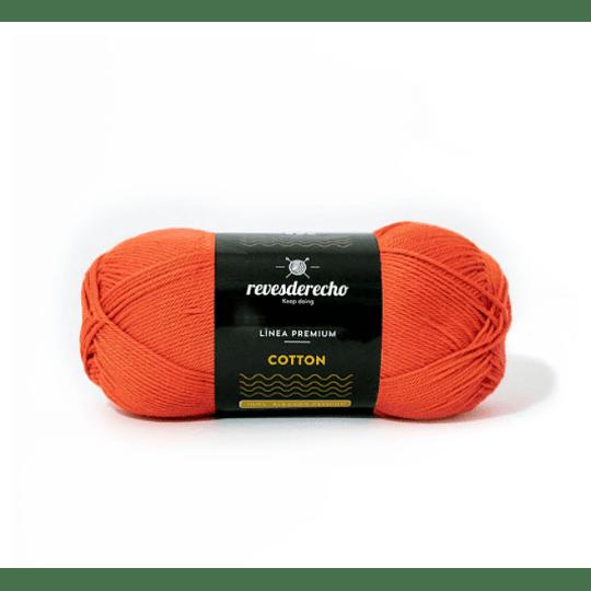 Lana Cotton 100% algodón premium terracota 010