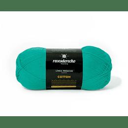 Lana Cotton 100% algodón premium turquesa 081