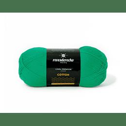 Lana Cotton 100% algodón premium verde bosque 085