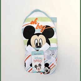 Toalla con Gorrito Bambino Disney Diseño