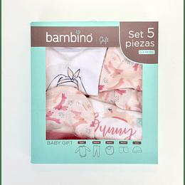 Set 5 Piezas Baby Gift Bambino Mujer