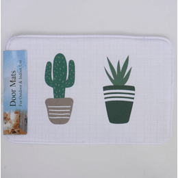 Mat de Puerta Cactus