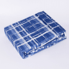 Sabana Microfibra Estampada Azul Chantilly  2 plazas