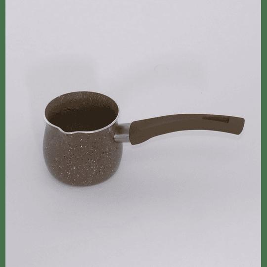 Olla / Jarro para café turco enlozada - 250cml café