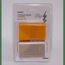 Batería Externa - Power Bank 7500mAh