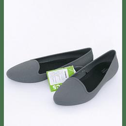 Zapatos Eve Flat W10 /40 Gris Crocs