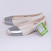Zapatos Sienna Shiny Flat W9 /39-40 Blanco/Plata Crocs