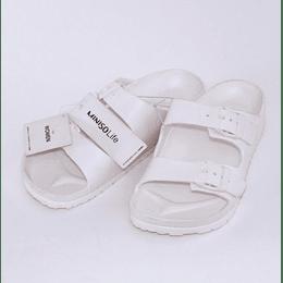 Zapatillas de Baño Dama- Bath Slippers for Women Crema Talla 37-38