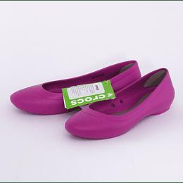 Zapatos Lina Flat W /38 Fucsia Crocs
