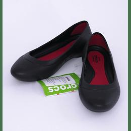 Zapatos Lina Flat W 34-35 Negro Crocs