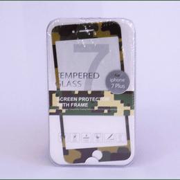Protector de Pantalla para iphone 7 Plus  Camuflaje Miniso
