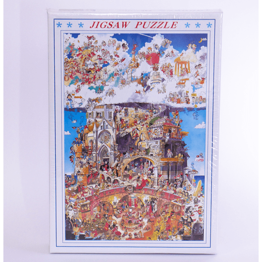 Puzzle Jigsaw 1000 Pcs Hugo Prades heaven and hell