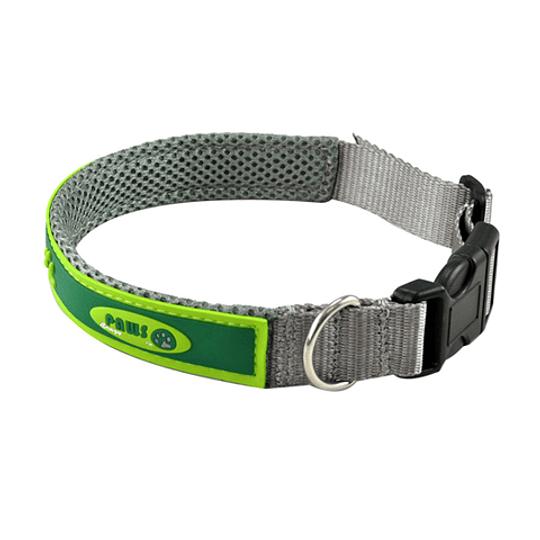 Collar Para Mascota Crazy Paws Patitas Verde DPETC007-GN