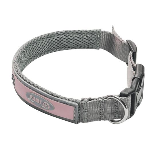 Collar Para Mascota Crazy Paws Patitas Rosado  DPETC007-PK