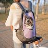 Mochila para Mascota Crazy Paws L Lila DPETC022-LL