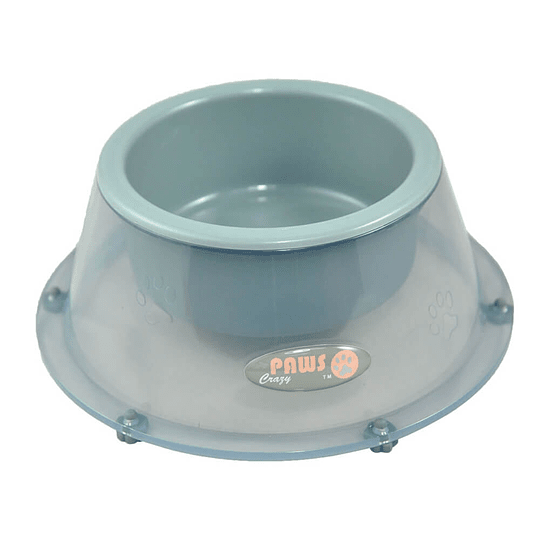 Plato Bowl Cuenco para Mascota S 260ml Gris DPETB002-GY1