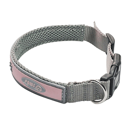 Collar Para Mascota Crazy Paws Patitas Rosado  DPETC012-PK