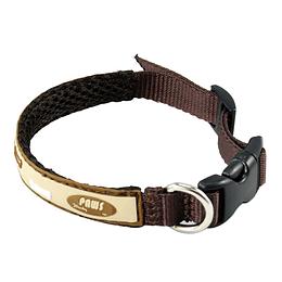 Collar Para Mascota Crazy Paws Huesitos Café  DPETC012-BONE-BN