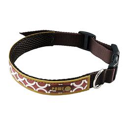 Collar Para Mascota Crazy Paws Pop Café  DPETC012-POP-BN