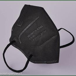 Mascarilla Protectora Desechable KN-95 Negra