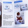 Pelela / Adaptador de baño portátil 2/1 Entrenamiento